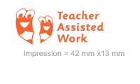 3 In 1 Stamper: Teacher Assisted Work