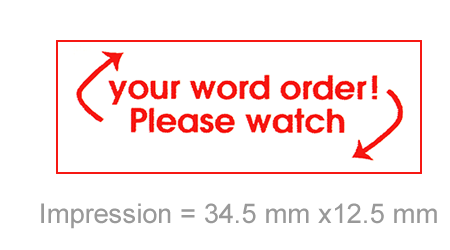 Stamp Stack: Please Watch Your Word Order