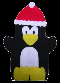 Christmas: Penguin Puppet Felt Kit