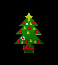 Christmas: Felt Christmas Tree Packs