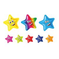 Sticker: Die Cut Stars - Bumper Pack 10