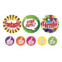 Sticker: Praise Words - Bumper Pack 10