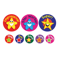 Sticker: Praise Stars - Bumper Pack 10