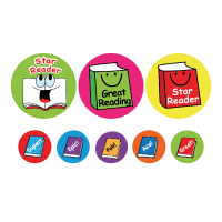 Sticker: Reading - Bumper Pack 10 (25mm)