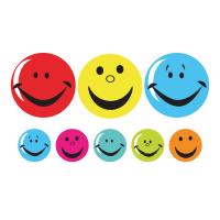 Sticker: Smile - Bumper Pack 10 - 25mm