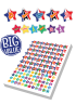 Sticker: French Stars Bumper - Pack 10