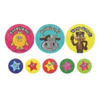 Sticker: A4 Sparkling Animal