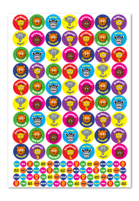 Sticker: Safari Animals - Bumper Pack 10