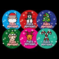 Sticker: Christmas Praise - Spanish