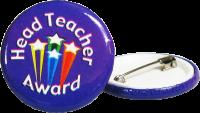 Badge: Head Teacher Award - Purple
