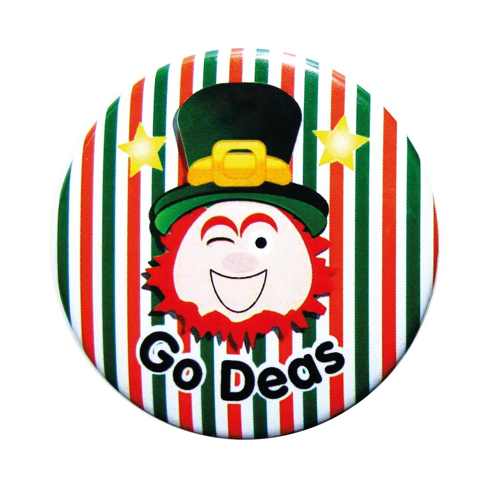Badge: Go Deas - 55mm