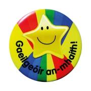 Badge: Gaeilgeoir An-mhaith - 55mm