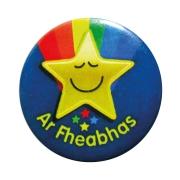 Badge: Ar Fheabhas - 38mm