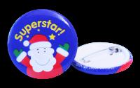 Christmas: Superstar Badge