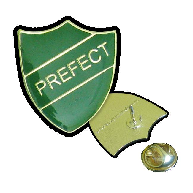 Badge: Prefect Green - Enamel