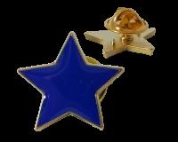 Badge: Blue Star - Enamel