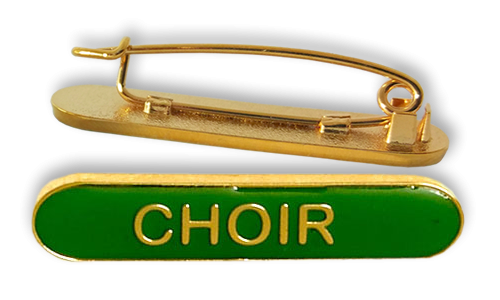 Badge: Choir Bar Green - Enamel