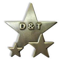 Badge: Design And Technology Star - Metal