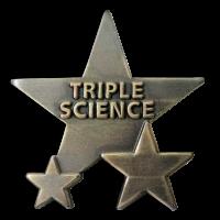 Badge: Triple Science - Metal
