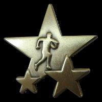Badge: Rugby Star - Enamel