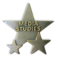 Badge: Media Studies Star - Enamel
