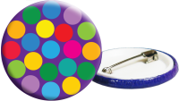 55mm Badges