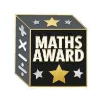 Badge - Enamel Maths Award