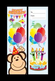 Bookmark: Happy Birthday