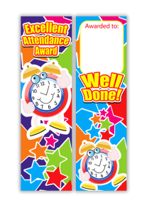 Bookmark: Attendance Award