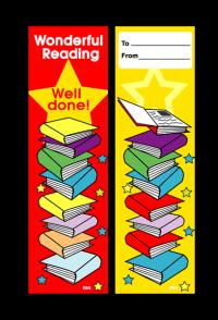 Bookmark: Wonderful Reading Well Done