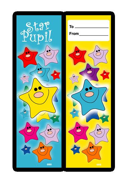 Bookmark: Star Pupil
