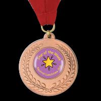 Personalised Medal: Bronze