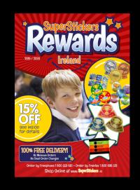 Brochure: SuperStickers Rewards - 2019/2020 ROI
