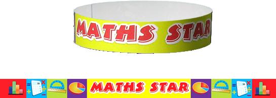 Wristband: Maths Star
