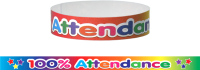 Wristband: 100% Attendance