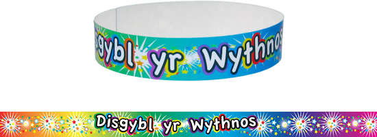 Wristband: Welsh Pupil Of The Week