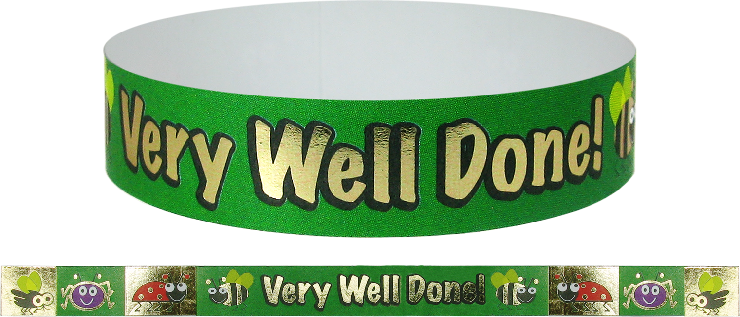 Wristband: Very Well Done! - Foil
