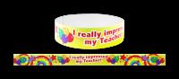 Wristband: I Impressed My Teacher