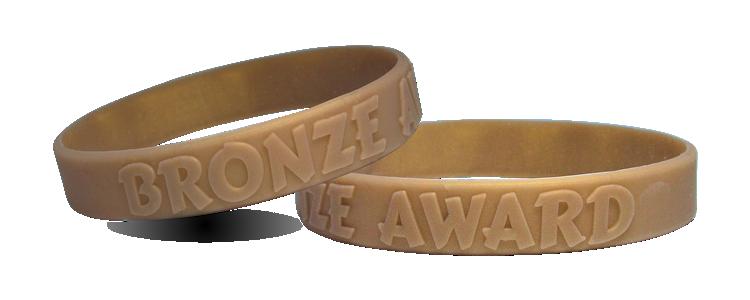 Wristband: Bronze Award - Silicone