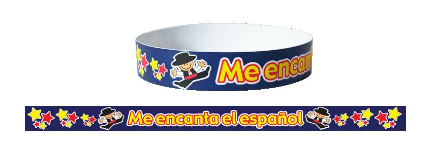 Wristband: Me Encanta El Español