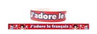 Wristband: J`adore Le Français