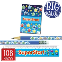 Stationery Set: Superstar! With Notepads Bulk Pack