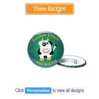 Badge: Personalised - 25mm