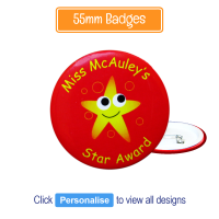 Badge: Personalised - 55mm