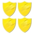 Personalised Enamel Shield Badge: Yellow
