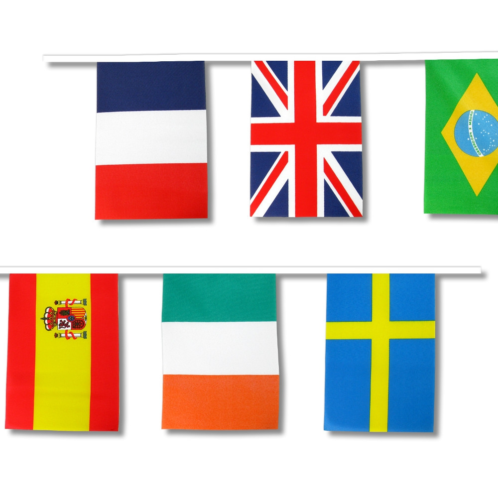 Bunting: Sporting Nations