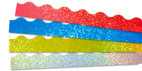 Sparkling Holographic Borders