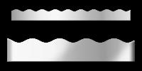 Silver Metallic Borders