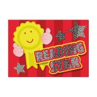 Postcard: Reading Star - Sparkling