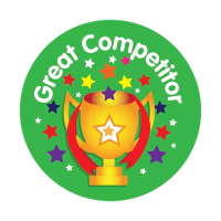 Sticker: Great Competitor